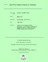 Submissions - WA Folder 1 [MGD E12]