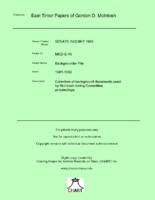 Backgrounder File [MGD E19]